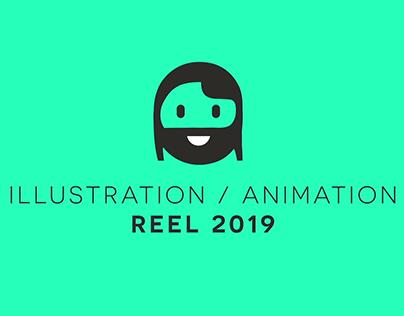 ILLUSTRATION/ANIMATION REEL 2019