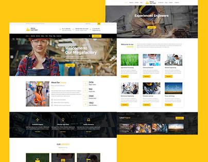 Mega Factory – Factory & Industrial Business WordPress