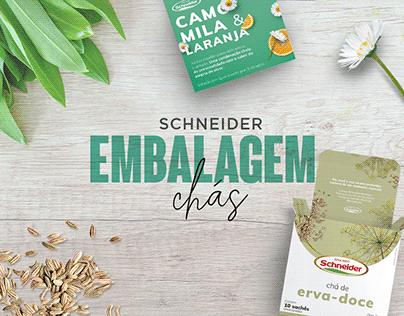 Schneider • Embalagens