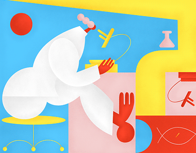 Editorial Illustrations for Science