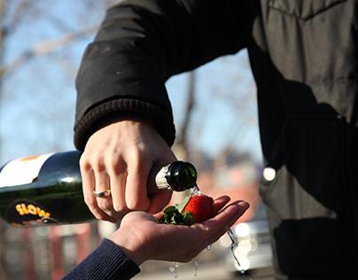 Guzzlin Champagne