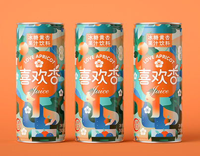 果汁包装让你美到窒息A Pica Lab Case - Love Apricot Juice