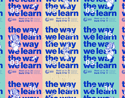 The Way We Learn: Exhibition Branding