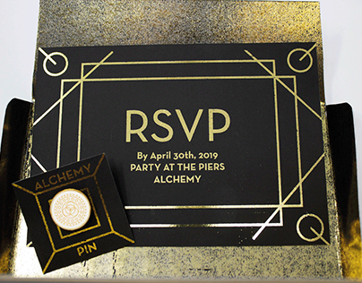 Alchemy Mobile Website Party Invitation