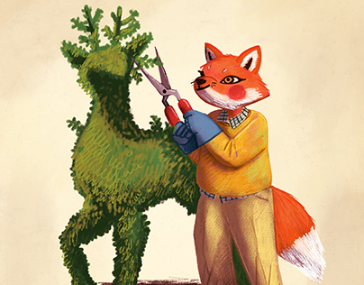 Mr.Fox and His Topiary