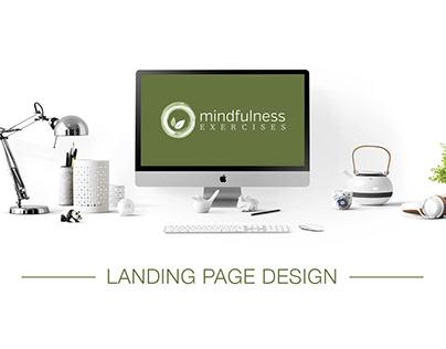 Mindfulness Webinar Landing Page