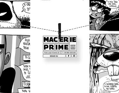 Macerie Prime - branding