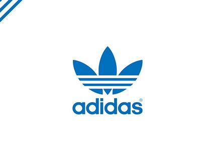Visual Merchandasing Adidas