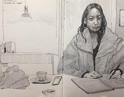 Visual Journal from Granada