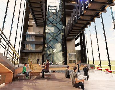 Hotel Atrium Interior Design