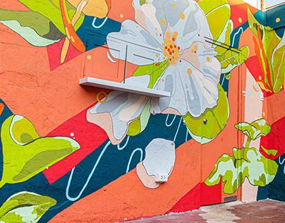 Mural / Nowhere Cerveza Artesenal