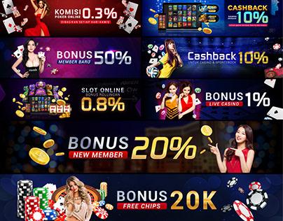 Casino/Poker Web Banner