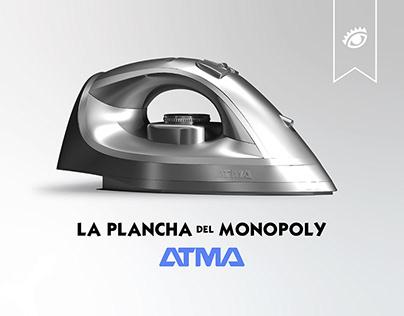 La plancha del Monopoly - ATMA // El Ojo 2020