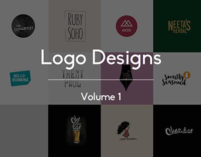 Logo Designs, Vol. 1
