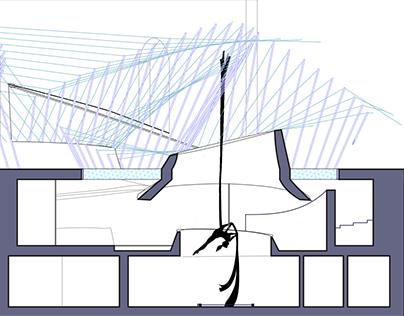 :AERIAL SILK: Performance Center & Venue :FUND-III