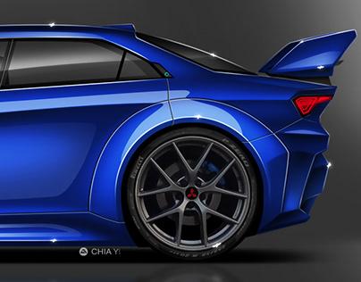 Mitsubishi Lancer Evolution XI Concept