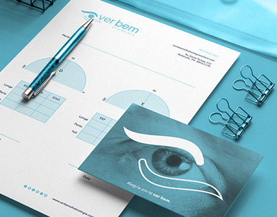 Ver Bem | Ophthalmology Clinic Brand Identity