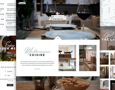 La Locanda di Pietro | Restaurant website