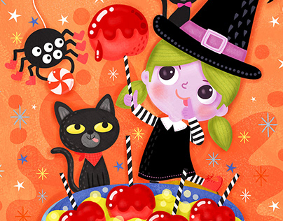 2019 Halloween Greeting Cards Designs and Illustrations