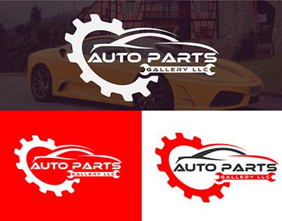 Auto parts car logo design