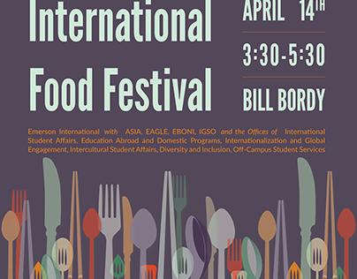International Food Festival Marketing Materials