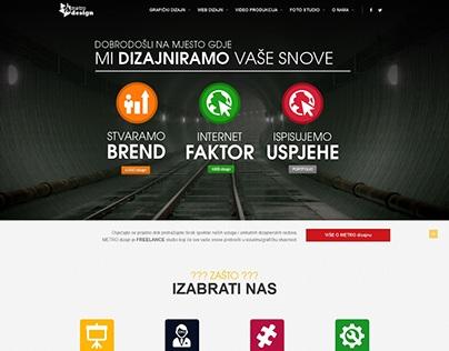 METRO dizajn Web Site v1