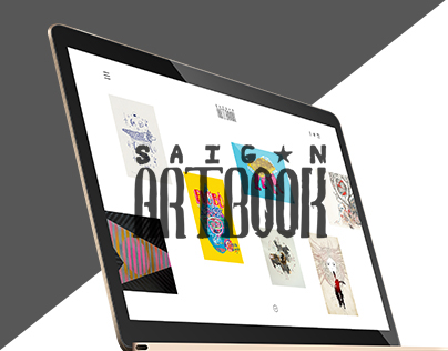 Saigon Artbook redesign