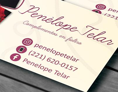 Penélope Telar - Presentation Card