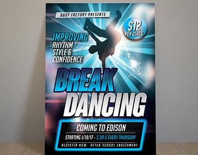 Bboy break dance postet