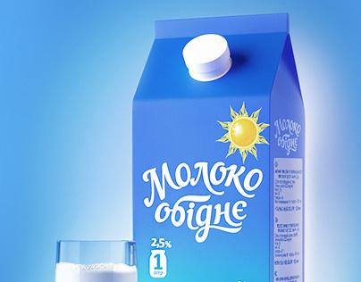Молоко «Обіднє»