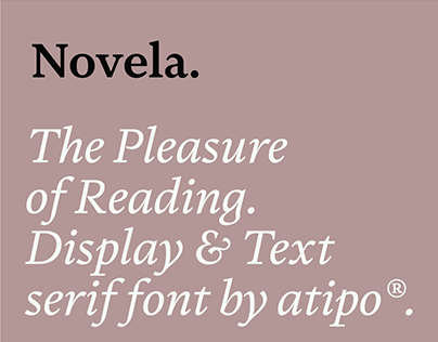 Novela Font