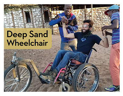 Deep Sand Wheelchair