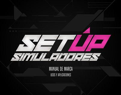 SETUP | Manual de Marca - Usos y aplicaciones