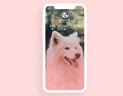 Fetch - Pet Marketplace App Design