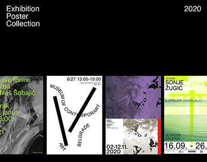 Exhibiton Poster Collection 2020