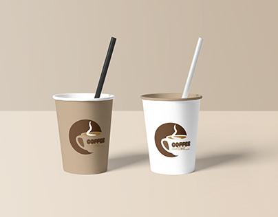 Coffee Shop Logo Mock Up