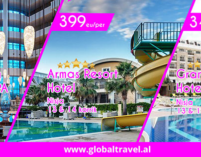 Banners GLOBAL TRAVEL agency