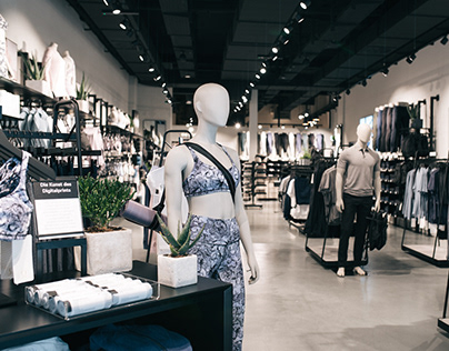 lululemon Frankfurt Retail Store Design