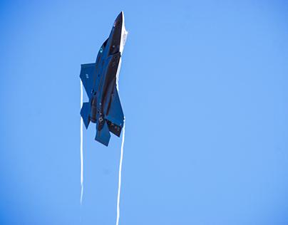 F-35A Lighting II In the Break