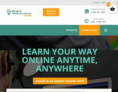 Tema para o site WAY Online
