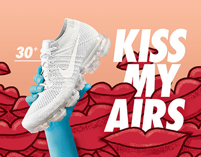 "Nike | ""KISS MY AIRS"" Campaign."