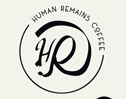 Human Remains Coffee Brand Identity