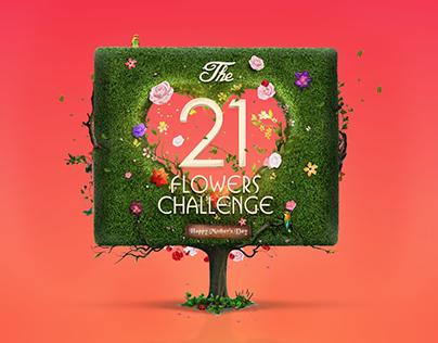 21 Flowers Challenge - Mall Of Arabia