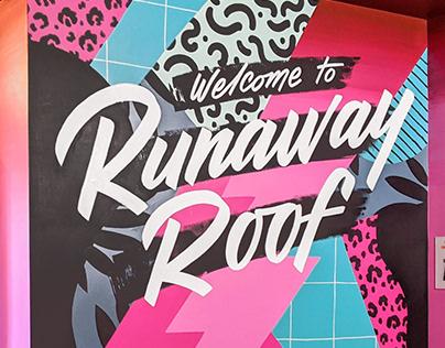 Runaway Roof mural