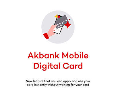 Akbank Mobile Digital Card