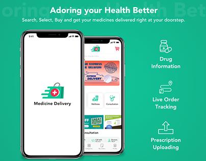 Medicine Delivery Application