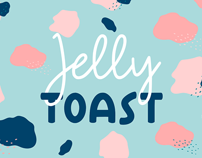 Jelly TOAST - Hand Drawing Duo Font