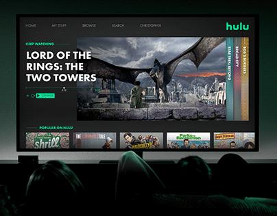 Hulu UI/UX Redesign