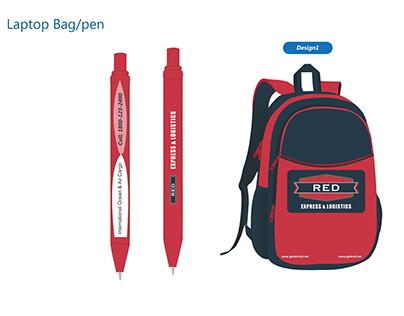 Laptop Bag/Pen