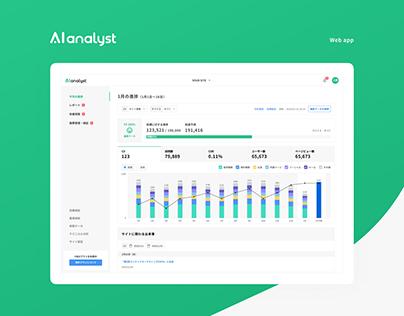 AI analyst - Web app